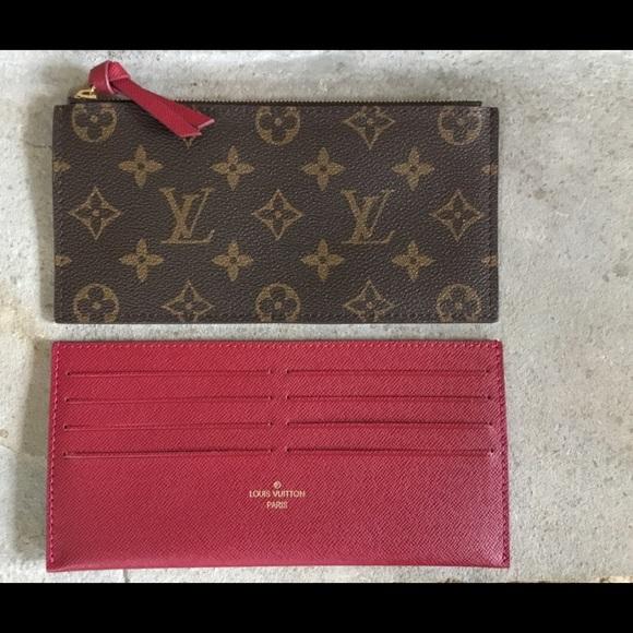 47ce97a43a8c Louis Vuitton Handbags - Louis Vuitton Pochette Felicie Inserts in Fuschia